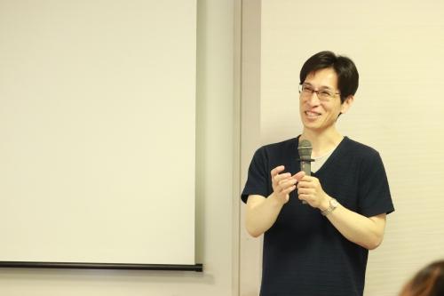 田中伸一 声を失ったダウン症の息子を持つ父の講演会